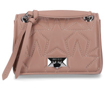 Handtasche HELIA Nappaleder Sternenmuster Logo