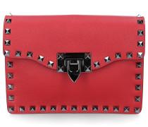 Handtasche B0117 Kalbsleder Nieten Logo
