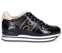 Sneaker low H222 Lackleder Laminiert Logo -kombi