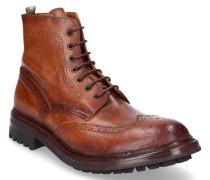 Chelsea Boots EXETER Glattleder Lochmuster