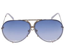 Sonnenbrille Aviator 8478 Titan gold