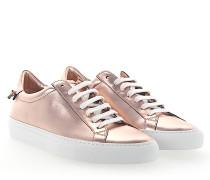 Sneaker URBAN STREET Glattleder Metallisch rosé