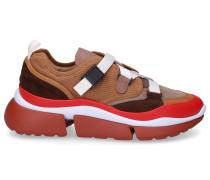 Sneaker low SONNIE Baumwolle Nylon Veloursleder Logo