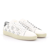 Sneaker Low SL/06 Leder schwarz Star-Patch silber