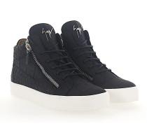 Sneaker high KRISS Kalbsleder Prägung