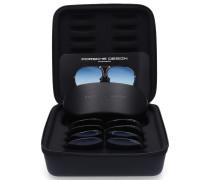 Sonnenbrille Aviator 8478 Titan schwarz