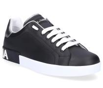 Sneaker low PORTOFINO Kalbsleder Logo -kombi