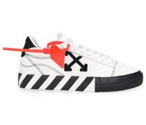 Sneaker low VULCANIZED Veloursleder Logo schwarz