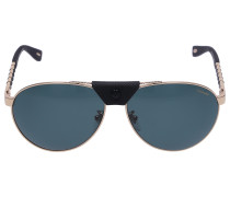 Sonnenbrille Aviator B33 Metall gold
