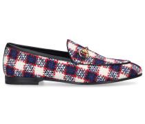 Loafer G2050 Tweed Horsebit-Detail -kombi rot weiß