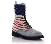 Stiefeletten I Love America Denim USA Prägung