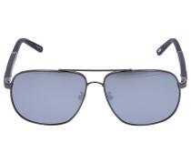 Sonnenbrille Aviator B77 300P Verspiegelt Carbon