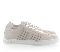Sneaker Y0X990 Leder cremeweiss Lochmuster