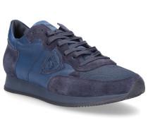 Sneaker TROPEZ Textil Veloursleder Logo Patch -kombi