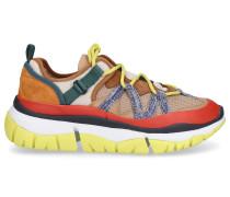 Sneaker low BLAKE Kalbsvelours Materialmix