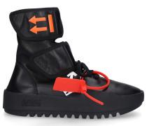 Sneaker high NAPPA MOTO WRAP SNEAKER Nappaleder Logo
