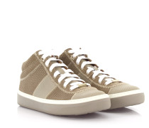 Sneakers Bells Mid Cut Veloursleder Leder