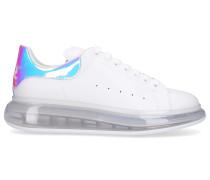 Sneaker low LARRY Kalbsleder Logo weiß