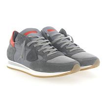Sneaker TROPEZ Kalbsleder Mesh Nylon Veloursleder