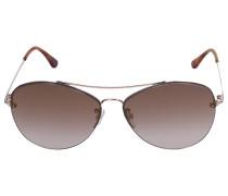 Sonnenbrille Aviator 28G Metall gold