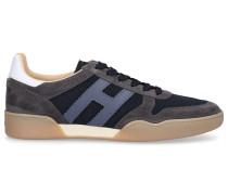 Sneaker low H357 Kalbsleder Veloursleder Logo