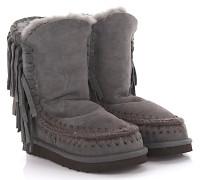 Stiefeletten Boots ESKIMO Fringes Veloursleder