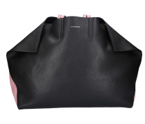 Handtasche BUTTERFLY TOTE Kalbsleder Logo rosa