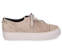 Sneaker low D925139 Veloursleder taupe