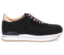 Sneaker low H222 Kalbsleder Glitzer