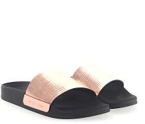 Sandalen A80810 Metallisch rosé