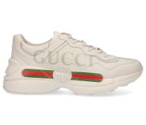 Sneaker low RHYTON Kalbsleder Logo creme