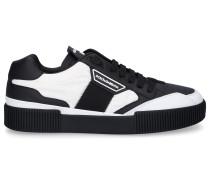 Sneaker low NEW MIAMI Kalbsleder Nappaleder Logo