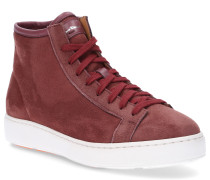 Sneaker high 60440 Veloursleder rosa