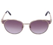 Sonnenbrille Wayfarer SCHC21 0300 Metall gold