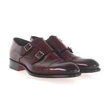 Doppel-Monk 11652 Leder bordeaux Goodyear Welted