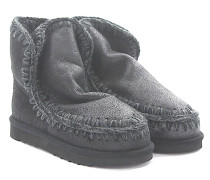 Stiefeletten Boots Eskimo 18 Veloursleder glänzend