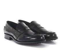 Loafer D0K130 Leder poliert