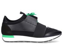 Sneaker low RACE RUNNER Kalbsleder Mesh Neopren