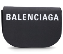 Handtasche VILLE DAY S Kalbsleder Logo