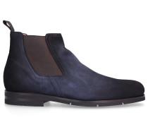 Chelsea Boots 16456 Veloursleder dunkel