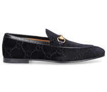Loafer JORDAN Samt Horsebit-Detail