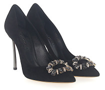 Pumps Veloursleder Swarovski