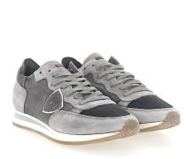 Sneaker TROPEZ Kalbsleder Mesh Veloursleder