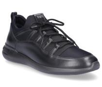 Sneaker low M91B0AI60 Glattleder Textil Logo