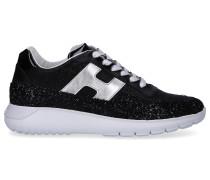 Sneaker low H371 Glitter Kalbsleder Glitzer