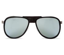 Verspiegelte Sonnenbrille GLACIER Acetat Edelstahl