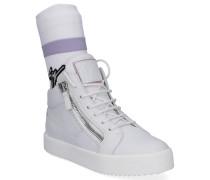 Sneaker low FRANKIE PLUS Glattleder Lackleder -kombi