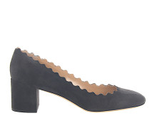 Pumps LAUREN Veloursleder dunkel