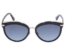 Sonnenbrille Cat Eye OFFSET Acetat schwarz