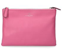 Handtasche CHOLET Kalbsleder Logo rosa